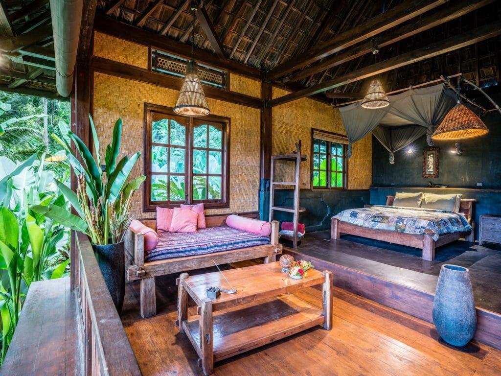 Harvest eco bungalow - bedroom