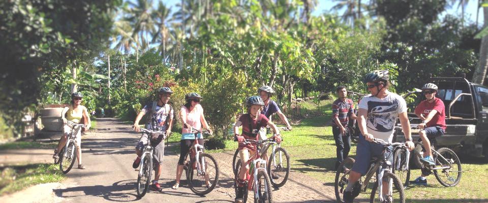 Mountain biking from Bali Eco Stay