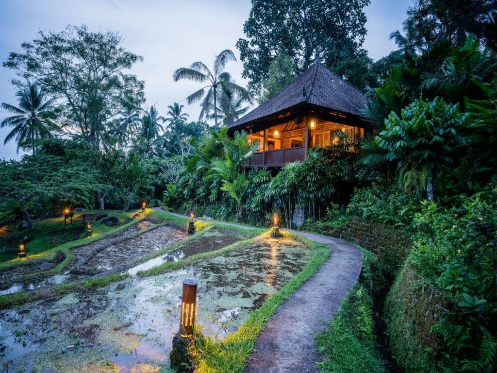 Ordinary Bungalow In Bali Part - 4: ... Rice Water Bungalow ...